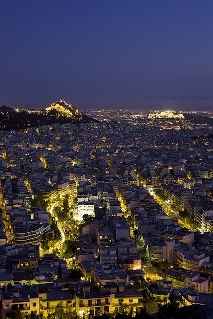 Panorama of Athens by Breathtaking Athens, via Flickr