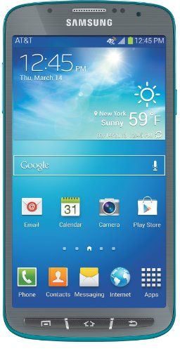 Samsung Galaxy S4 Active, Dive Blue 16GB (AT&T) Display: 5.0-inches. Camera: 8-MP. Processor Speed: 1.9 GHz. OS: Android 4.2 (Jelly Bean).  #Samsung #Wireless