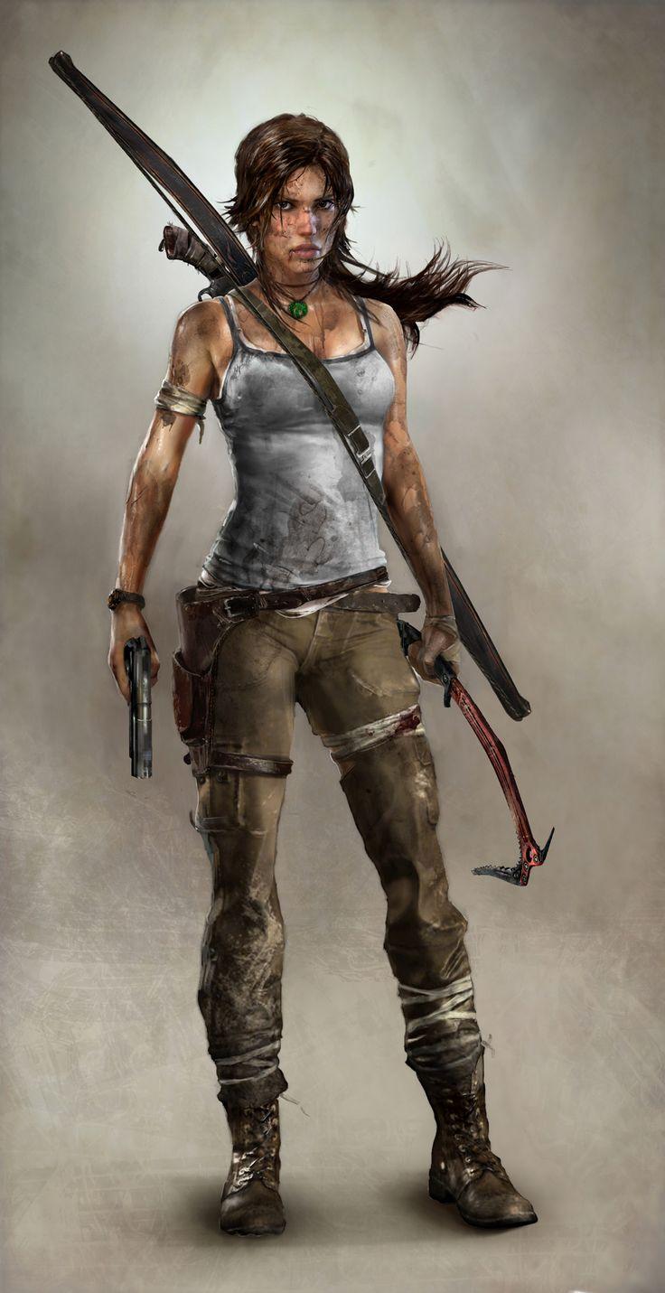lara croft | Lara Croft, Catwoman(Arkham City) and Tali'zorah