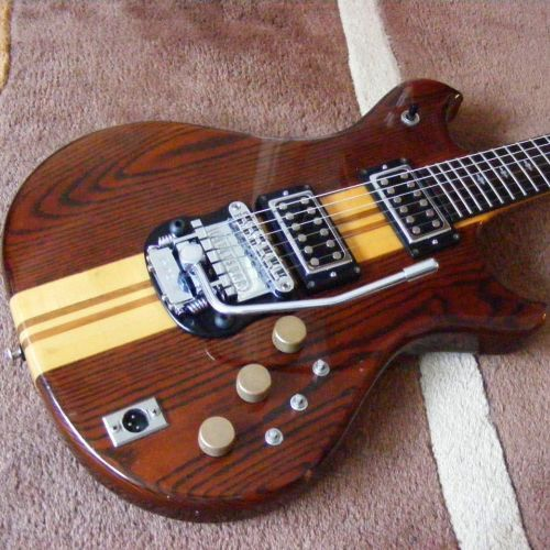 Custom Electric With A Stetsbar Tremolo Inspiration
