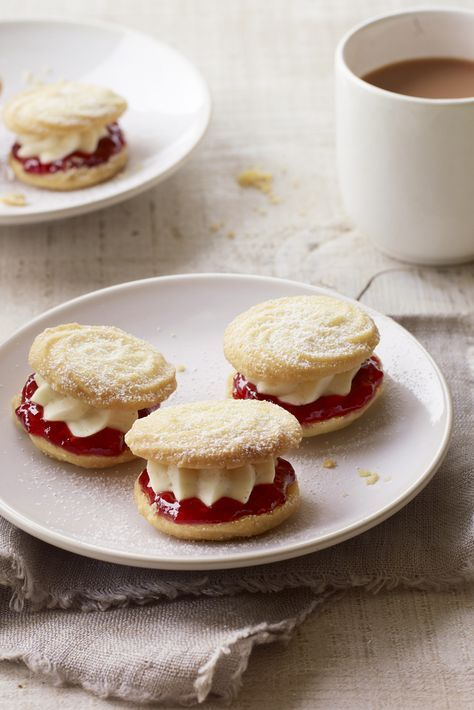 Viennese whirls from The Great British Bake Off                              …