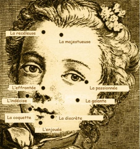 I Cannot Go To Bed - There Is Epic Shit Happening On The Internet: Beauty mark meanings in the 18th century