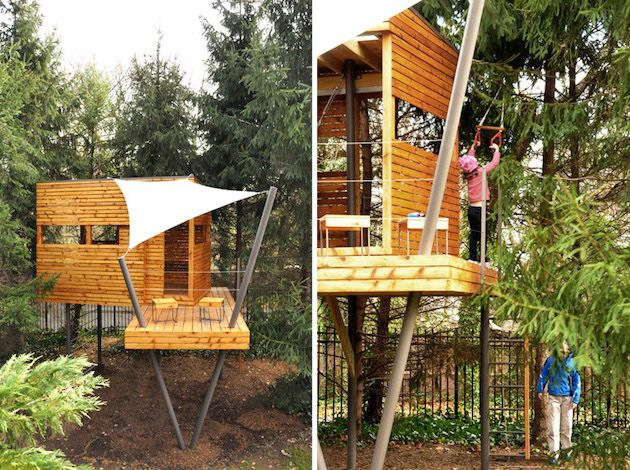 Best 25 Treehouses For Kids Ideas On Pinterest Treehouse Kids