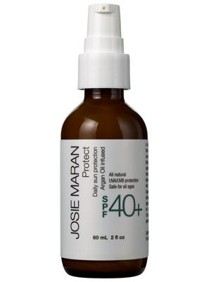 Josie Maran Protect Daily Sun Protection Argan Oil Daily Moisturizer with SPF 40+