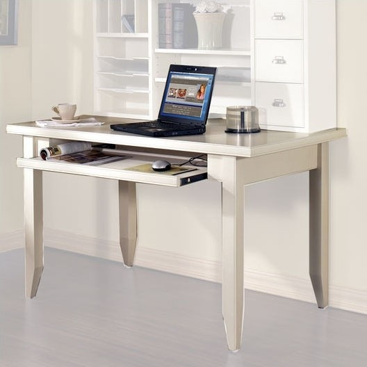 Kathy ireland Home by Martin Furniture   Tribeca Loft White   49  W Writing  Desk. 33 best Office images on Pinterest
