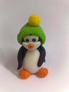 fondant penguin