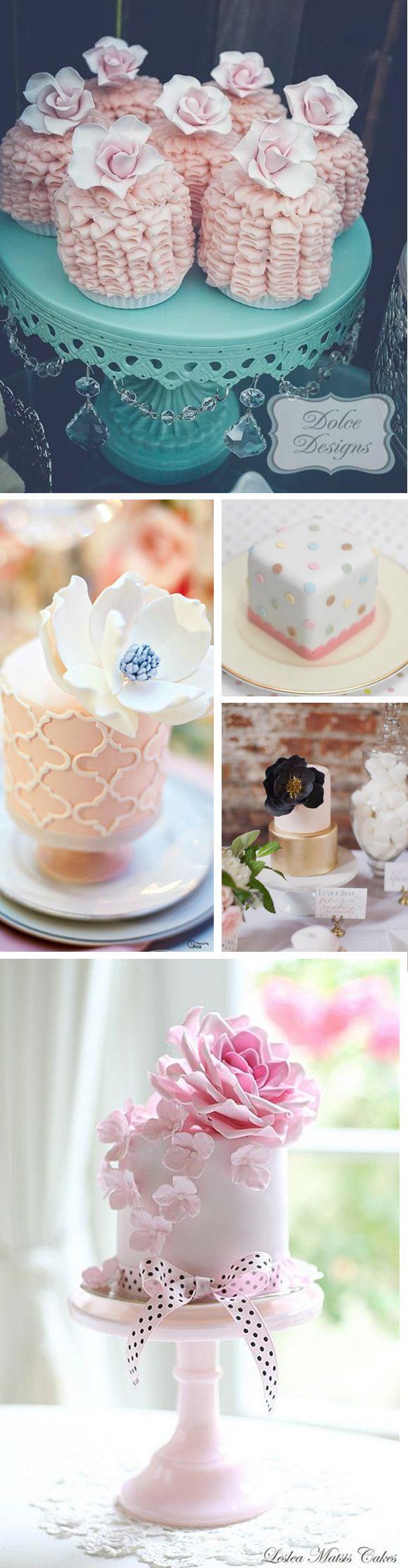 Mini cakes para bodas