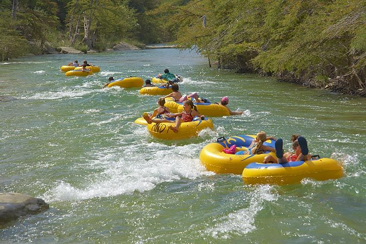 Andys on River Road - Tubing and other fun along the Frio River in Concan, Texas