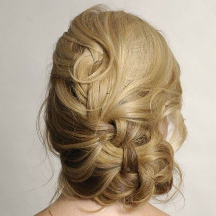 loose, woven curls