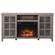 TV Stand/Entertainment Unit and Fireplace (Electric) all in one.  Perfect!