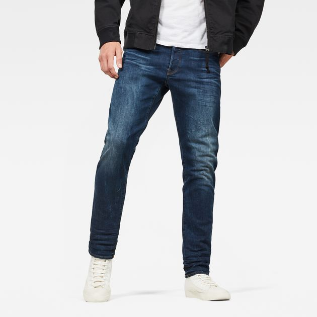 3301 Straight Tapered Jeans | G star raw, Tapered jeans, Raw