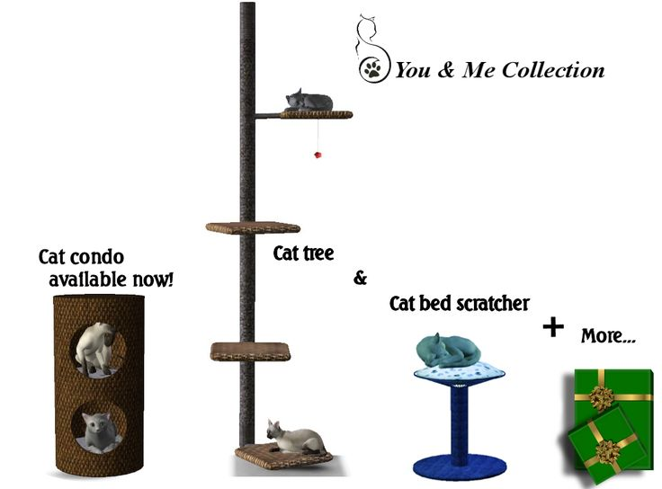 """It's beginning to look alot like christmas""for the Sims pets that is! Most of you may already have my cat condo that I remeshed from a free 3D website~Thank you! My You & Me Collection is up for grabs to the first 7 subscribers to my Wix website.The..."