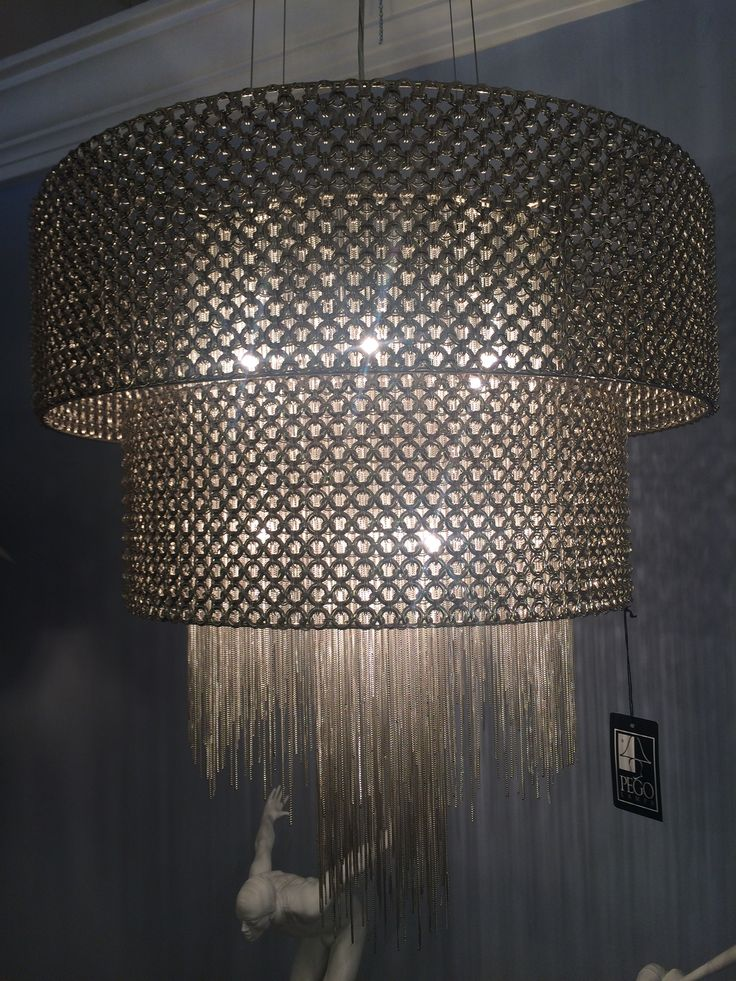 Chandelier at Pego Lamps in Miami. $2,449.