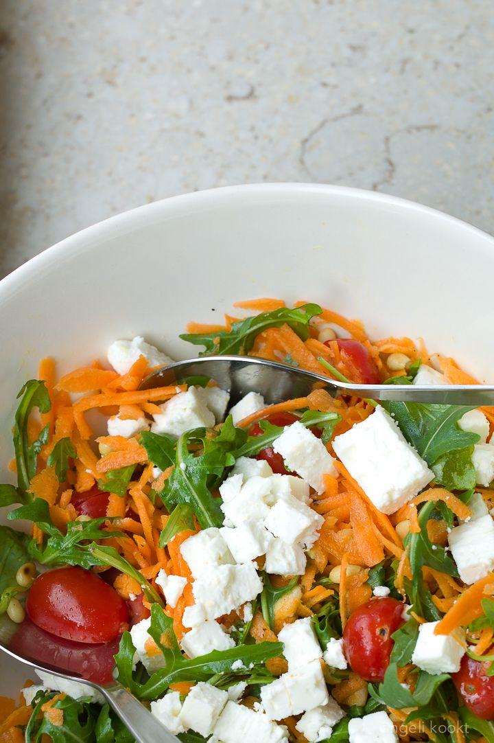 wortele rucolasalade