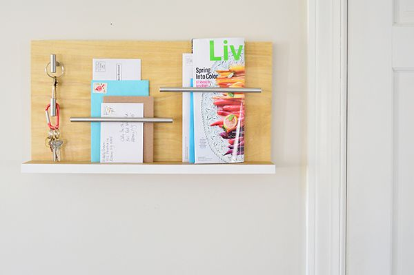 Stylish Wall Mail Organizer For Your Entryway - The Home Depot - Home Improvement Blog – The Apron by The Home Depot
