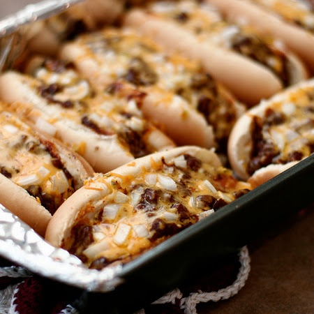 Oven Hot Dogs Why does this look so good?
