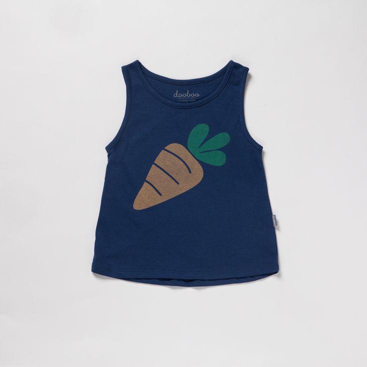 Canottiera Carrot - Dooboo - Kids - Shop online www.mirtilla.eu