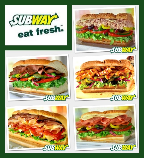 Subway sandwiches! (: levi loves yummy sandwiches!