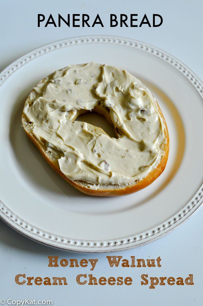 Panera Bread Honey Walnut Cream Cheese Spread from CopyKat.com
