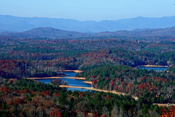 Overlooking Beautiful Lake Nottely And Blairsville
