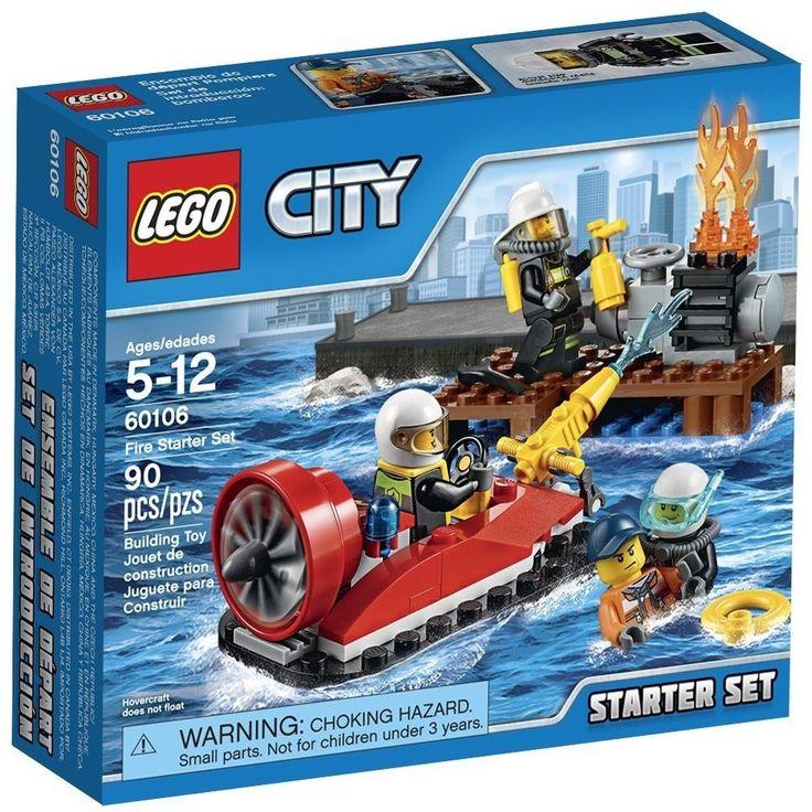 LEGO 60106 City Fire Starter Set