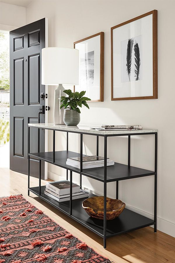 Bowen Console Bookcases In Natural Steel Modern Bookcases Shelving Modern Living Room Furniture Room Board Office Furniture Modern Modern Furniture Living Room Modern Console Tables