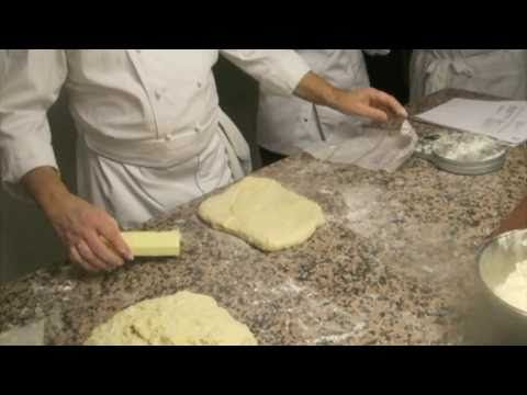 This is a video from that someone posted from the class I took at le cordon bleu in paris. Croissants!