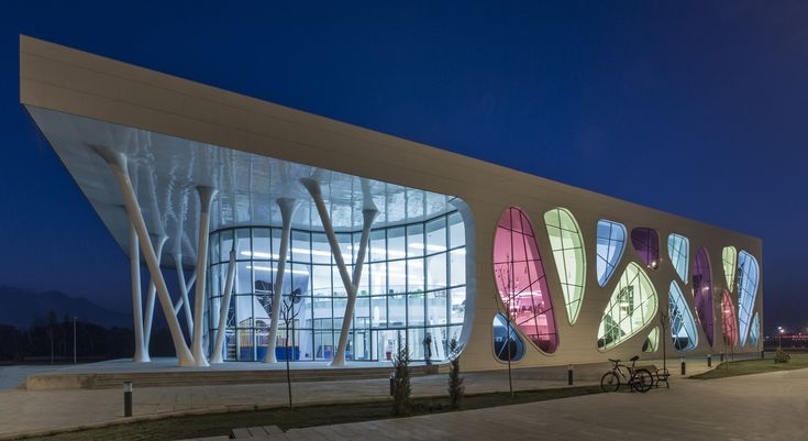 Kayseri Ice Ring. Location: Kayseri, Turkey; firm: Bahadir Kul Architects; year: 2012