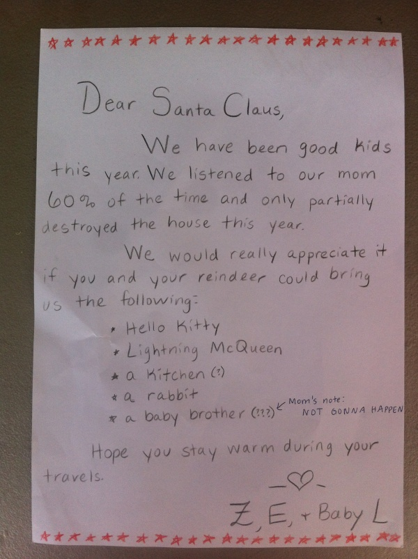 Number Of Letters To Santa