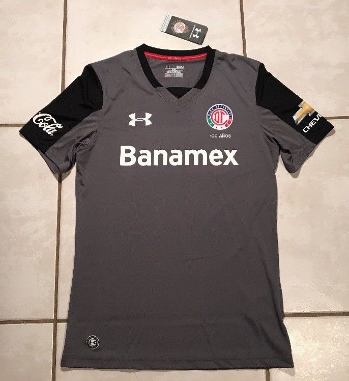 NWT UNDER ARMOUR Deportivo Toluca FC 2016/2017 Third Jersey Men's Medium  | eBay