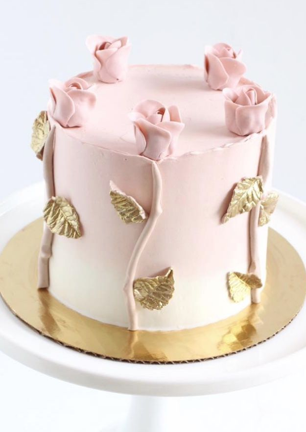 Featured Wedding Cake:Starbird Bakehouse;www.starbirdbakehouse.com; Wedding cake idea.