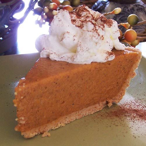 """No-Bake Pumpkin Pie 
