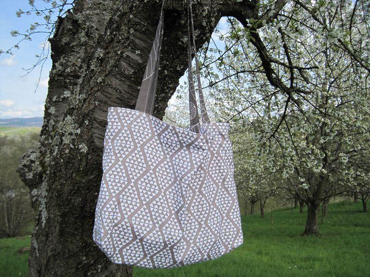 Fix genäht: Tasche aus Geschirrtuch | Mein schönes Land bloggt