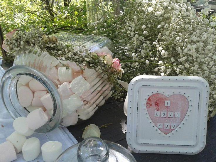 Deco table mariage champêtre