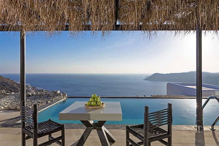 @ Myconian Utopia Resort. Hotel and restaurant on the seafront. Mykonos, Greece. #relaischateaux #utopia #mykonos #paradise #sea #greece
