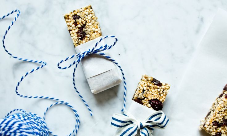 Ovesné-quinoa müsli tyčinky | KITCHENETTE