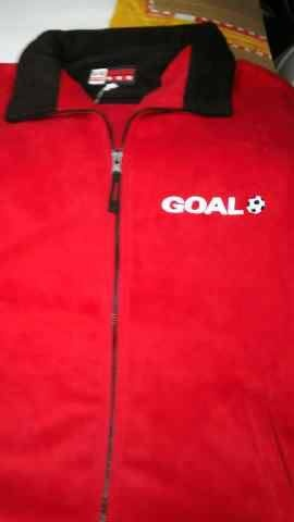 Goal completed & looking good!   pact - Brand Solutions supplied the jackets as well as the embroidery.   To contact us please email pact@live.co.za or via the wall or inbox of this page.   #brandingforgood