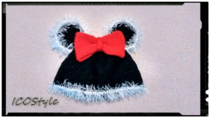Crochet Mouse Earflap Hat,Mouse Hat,Photo Prop,Walt Disney Mini Mouse Hat,Crochet Mouse Hat,Mouse Hats Mouse Beanie,Disney Crochet Hat by ICOStyle on Etsy