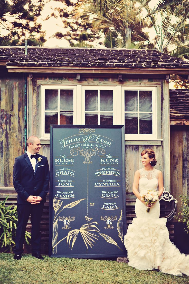 Wedding Venue: Haiku Mill - http://www.stylemepretty.com/portfolio/haikumill Photography: Tamiz Photography - http://www.stylemepretty.com/portfolio/tamiz-photography   Read More on SMP: http://www.stylemepretty.com/2014/08/27/glamorous-maui-destination-wedding/
