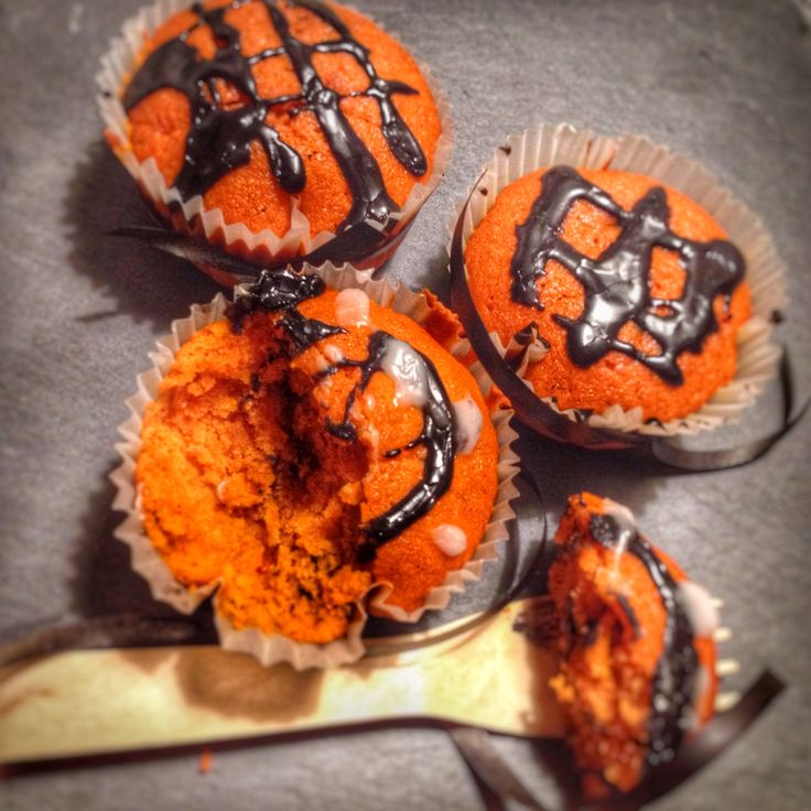 Babeczki dyniowe / pumpkin muffins