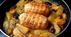 Rotti+de+pollo+con+patatas+y+frutos+secos