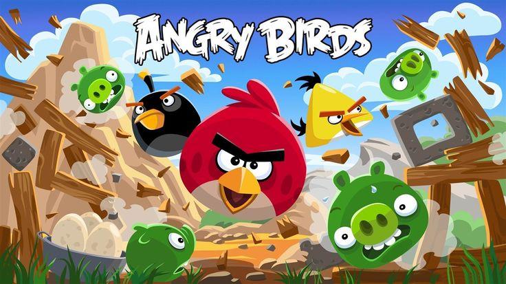 HD Wallpaper Angry Bird Hd Game Wallpaper, Desktop Wallpaper Angry Bird Hd Game Wallpaper