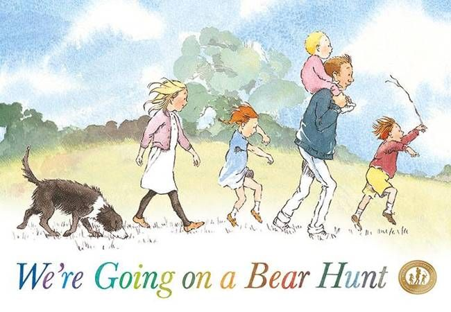 Going on a bear hunt book