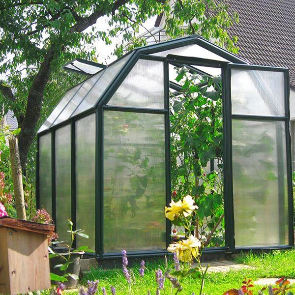 serre polycarbonate monet 5 1 m serres pinterest serre. Black Bedroom Furniture Sets. Home Design Ideas