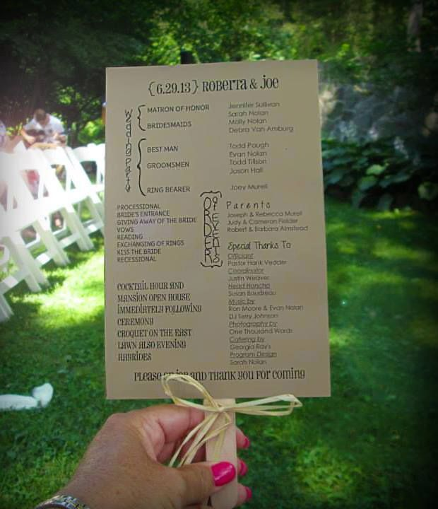 17 Best Images About Wedding Programs On Pinterest