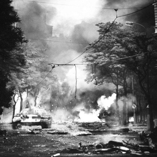 PRAGUE, Czechoslovakia—August 1968.