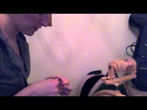 Spinning Bamboo Fiber 101 - YouTube