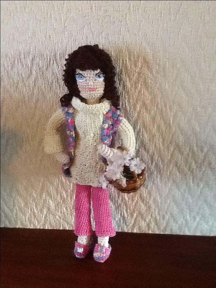 Beth, my new Amigurumi Doll