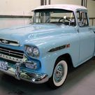 1959 Chevy Apache: Bless the man for keeping the stock rim's!!!