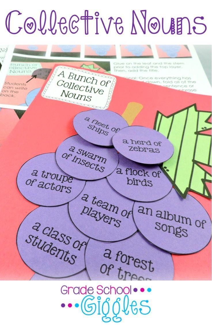 Uncategorized Collective Nouns Worksheets 25 best ideas about collective nouns worksheet on pinterest 2nd nouns